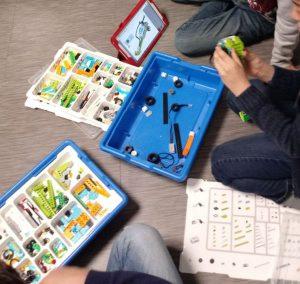 z cumpleaos robotica sanse 5 18789 300x284 - Temático  especial Robotica Crea ROBOTS