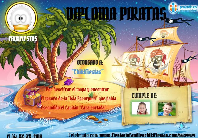 Piratas - Temático de Piratas