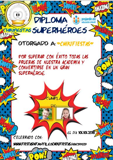 Superheroe - Temático de Super Héroes