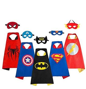 capas superheroes - Temático de Super Héroes