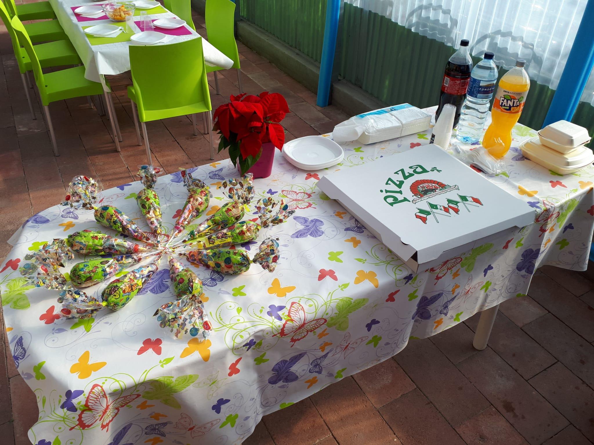 mesa chuches - Cumpleaños San Agustín del Guadalix