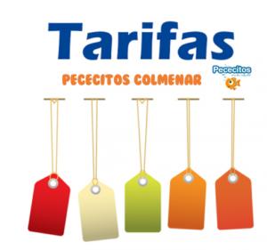 TARIFAS COLMENAR 300x281 - Pececitos Cumpleaños en Colmenar Viejo