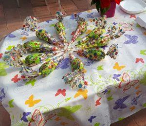 mesa chuches 300x259 - Paso a paso en Pececitos Cumpleaños en Colmenar Viejo