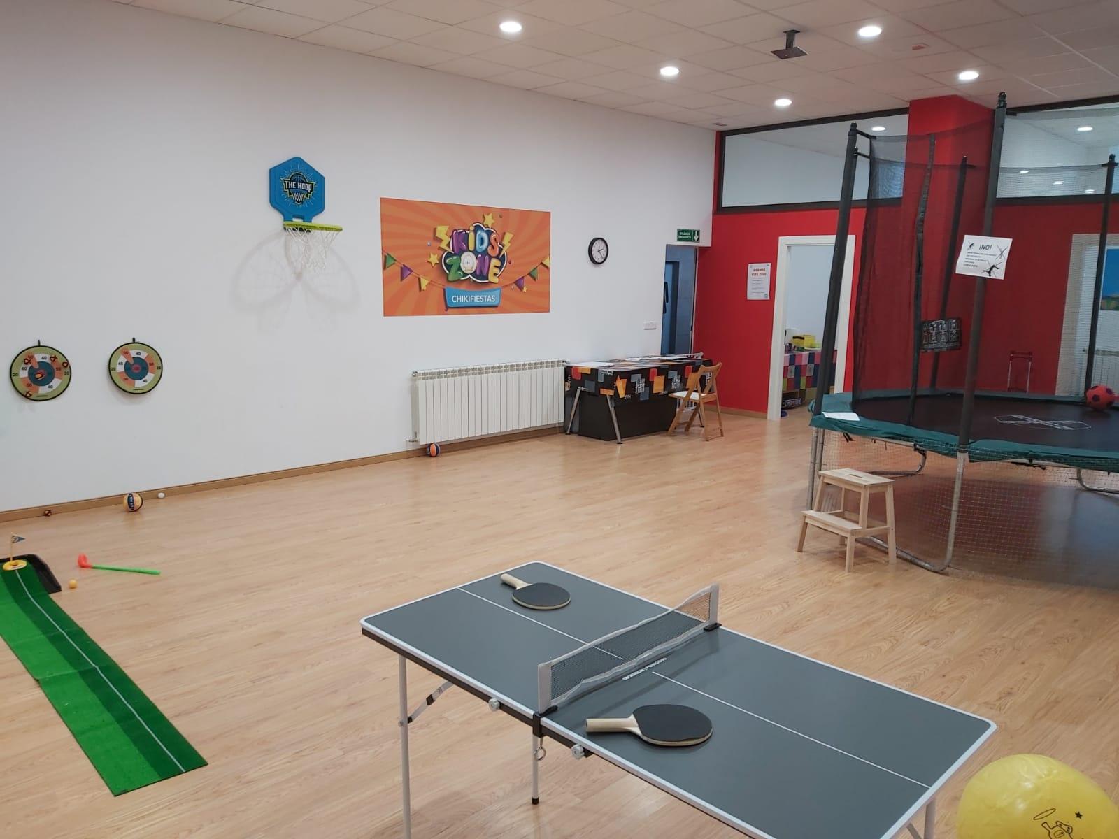sport zone - ALCOBENDAS (Moraleja) cumpleaños en centro de ocio