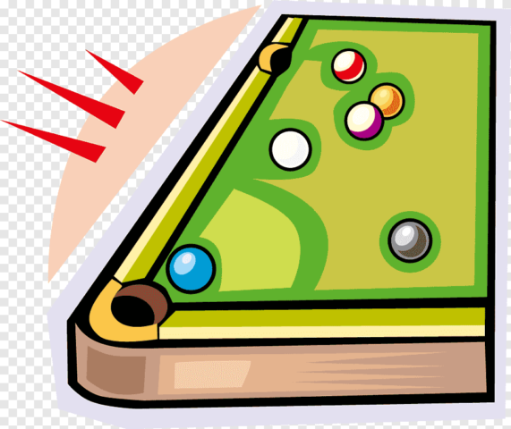 png clipart billiards billiard table snooker cartoon billiard tables corner cartoon character game 640x480 - Torneo futbolín y billar