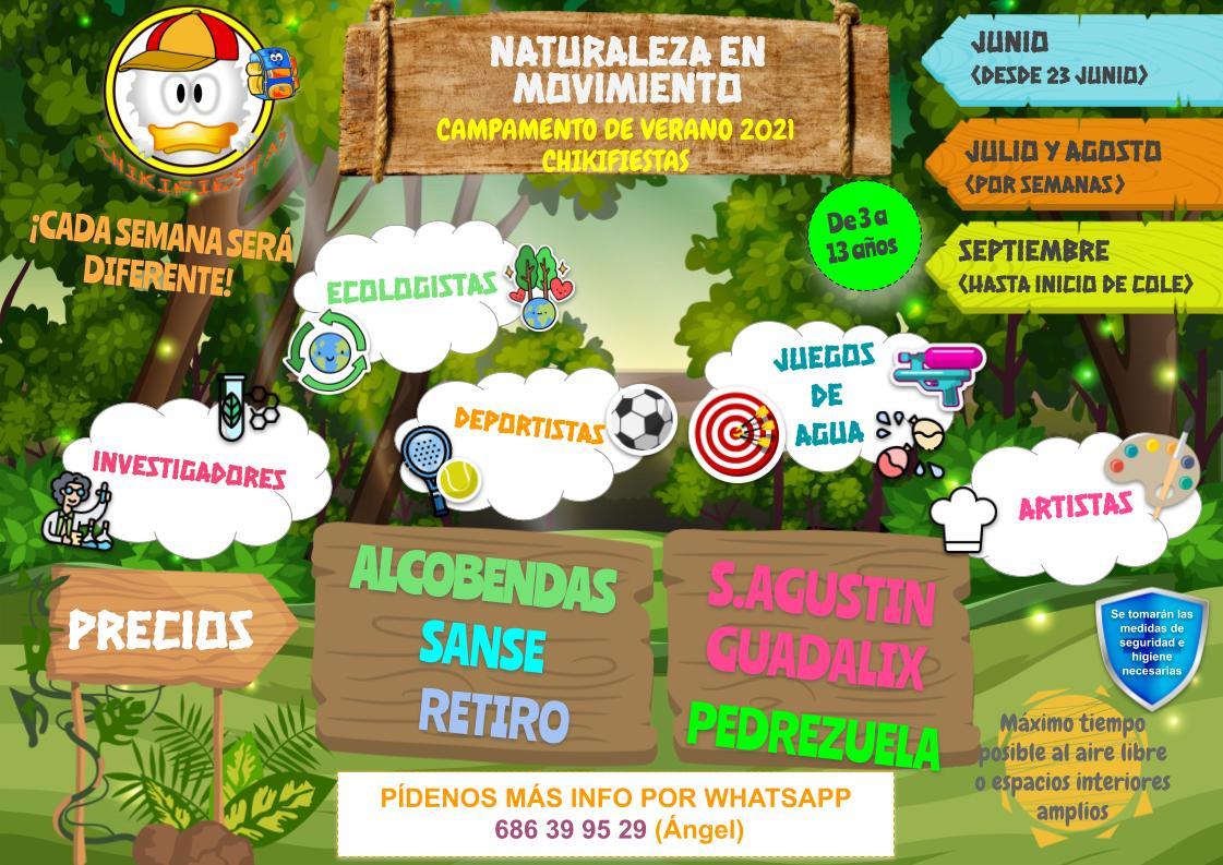CAMPAMENTOS TODOS 1 - Campamentos VERANO 2021
